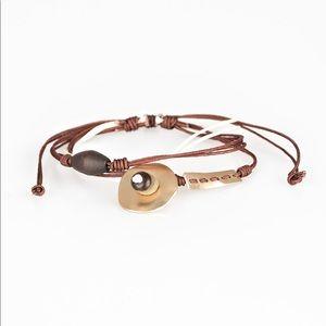 Trail trek Brown urban bracelet
